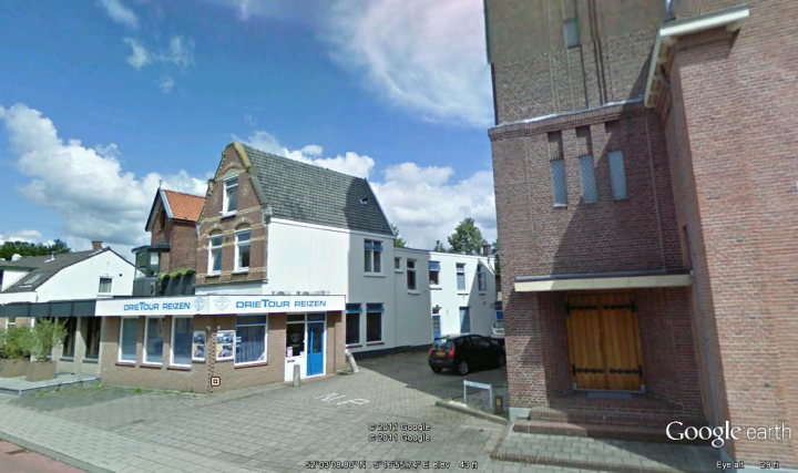 Driebergen Netherlands. Our 1st home in above the travel agency.
