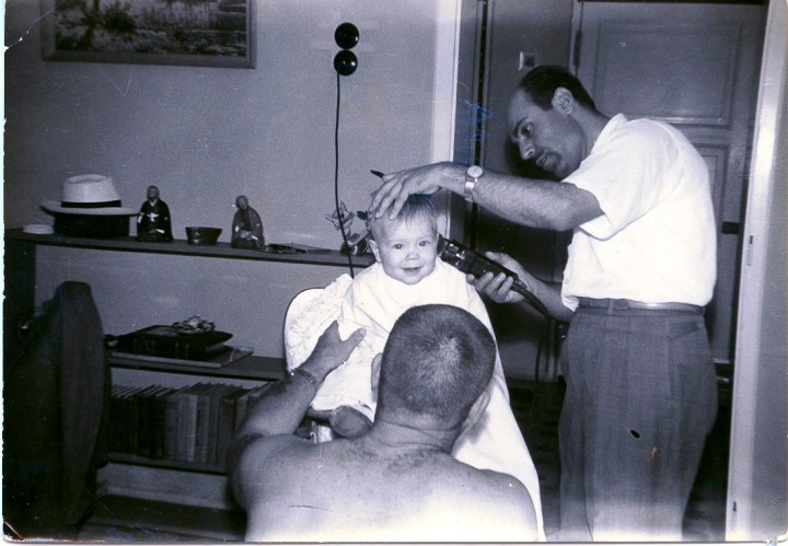 My First Haircut October 1960 Turkey