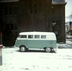 Our VW Van at 113 Hoofdstraat, Driebergen, NL